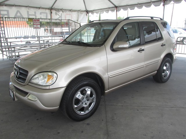 2003 Mercedes ML350 37L Please call or e-mail to check availability All of our vehicles are av