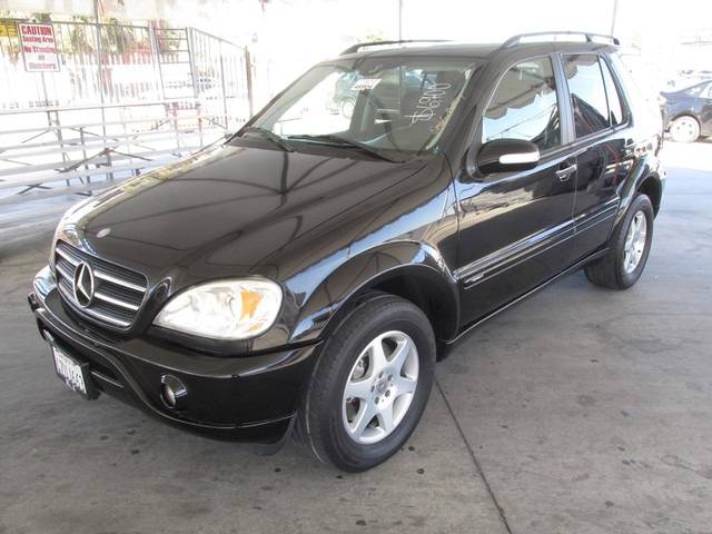 2003 mercedes ml500 5 0l cars and vehicles gardena ca. Black Bedroom Furniture Sets. Home Design Ideas