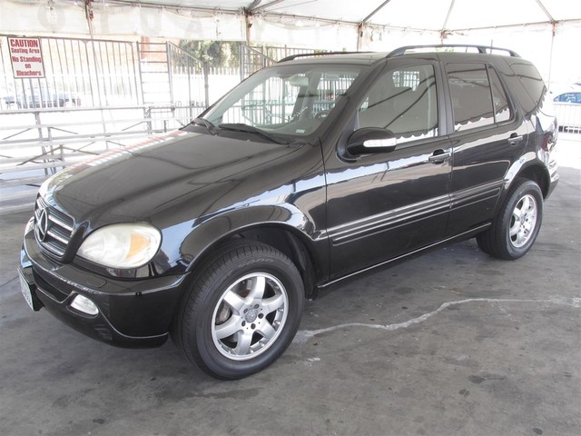2003 Mercedes ML500 50L Please call or e-mail to check availability All of our vehicles are av