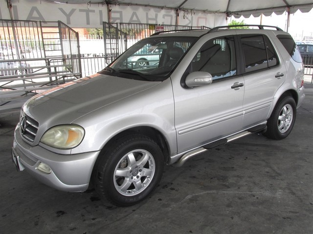 2003 Mercedes ML500 50L This particular Vehicle comes with 3rd Row Seat Please call or e-mail to