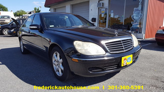 2003 Mercedes-Benz S430 in Frederick, Maryland