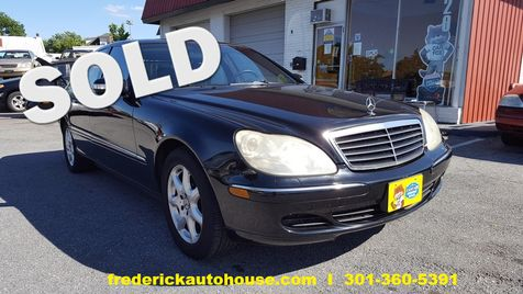 2003 Mercedes-Benz S430 4.3L in Frederick, Maryland