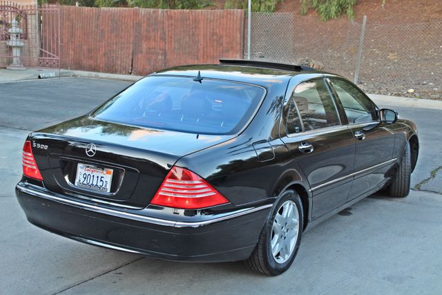 2003 Mercedes-Benz S500 5.0L 54K ORIGINAL MILES AUTOMATIC NEW TIRES XENON LEATHER Woodland Hills, CA 7