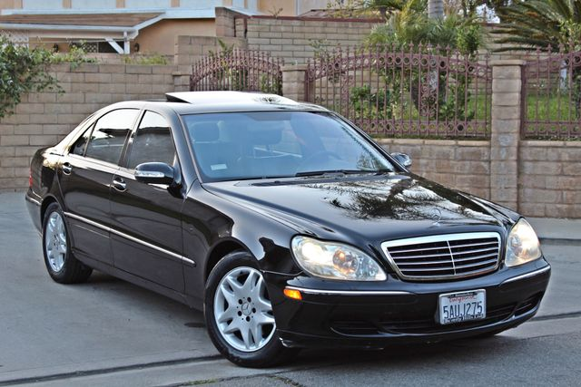 2003 Mercedes-Benz S500 5.0L 54K ORIGINAL MILES AUTOMATIC NEW TIRES XENON LEATHER Woodland Hills, CA 34