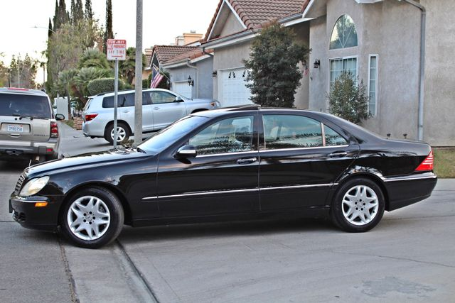 2003 Mercedes-Benz S500 5.0L 54K ORIGINAL MILES AUTOMATIC NEW TIRES XENON LEATHER Woodland Hills, CA 3
