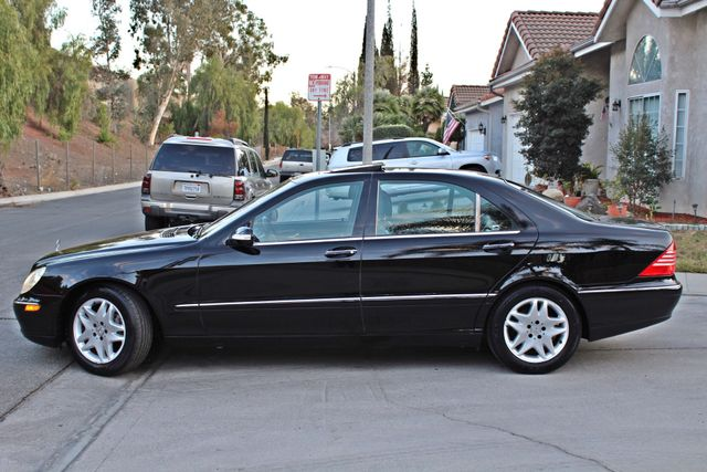 2003 Mercedes-Benz S500 5.0L 54K ORIGINAL MILES AUTOMATIC NEW TIRES XENON LEATHER Woodland Hills, CA 4