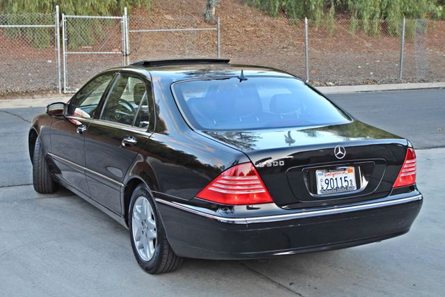 2003 Mercedes-Benz S500 5.0L 54K ORIGINAL MILES AUTOMATIC NEW TIRES XENON LEATHER Woodland Hills, CA 32