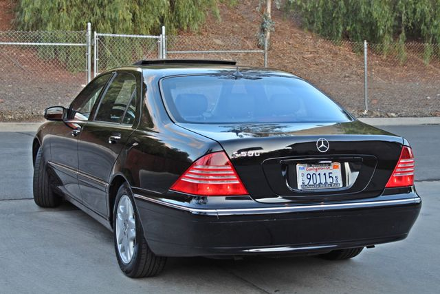 2003 Mercedes-Benz S500 5.0L 54K ORIGINAL MILES AUTOMATIC NEW TIRES XENON LEATHER Woodland Hills, CA 5