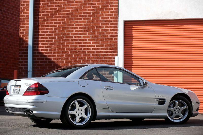 2003 Mercedes-Benz SL-Class SL55 AMG - SILVER ARROW - KEYLESS GO - DISTRONIC  city California  MDK International  in Los Angeles, California