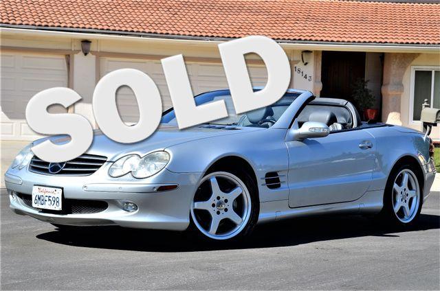 2003 Mercedes-Benz SL500 Reseda, CA 0