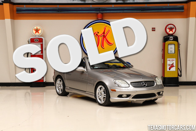 2003 Mercedes SLK32 32L AMG This Clean Carfax 2003 Mercedes-Benz SLK32 32L AMG is in great shape