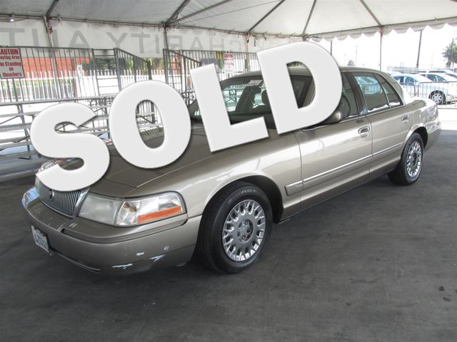 2003 Mercury Grand Marquis GS Convenience Please call or e-mail to check availability All of ou