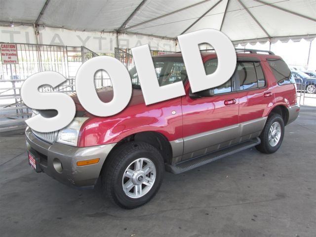 2003 Mercury Mountaineer Convenience This particular Vehicle comes with 3rd Row Seat Please call