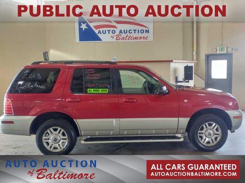 2003 Mercury MOUNTAINEER  | JOPPA, MD | Auto Auction of Baltimore  in JOPPA, MD