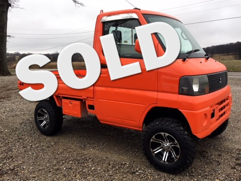 2003 Mitsubishi 4wd Minitruck [a/c, power steering]  | Jackson, Missouri | Eaton Mini Trucks/GR Imports in Jackson Missouri
