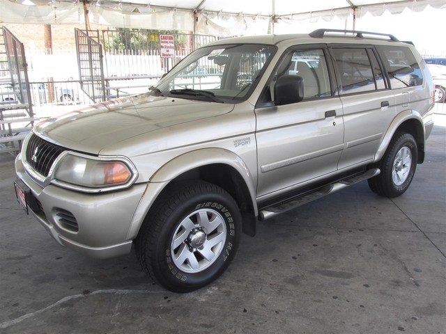 2003 Mitsubishi Montero Sport XLS Please call or e-mail to check availability All of our vehicl