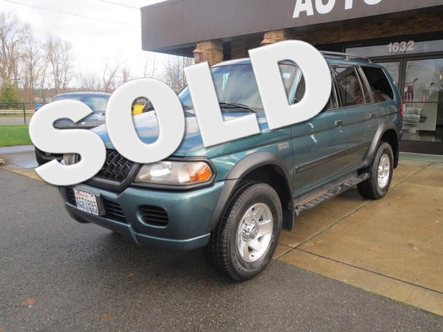 2003 Mitsubishi Montero Sport LS The CARFAX Buy Back Guarantee that comes with this vehicle means t