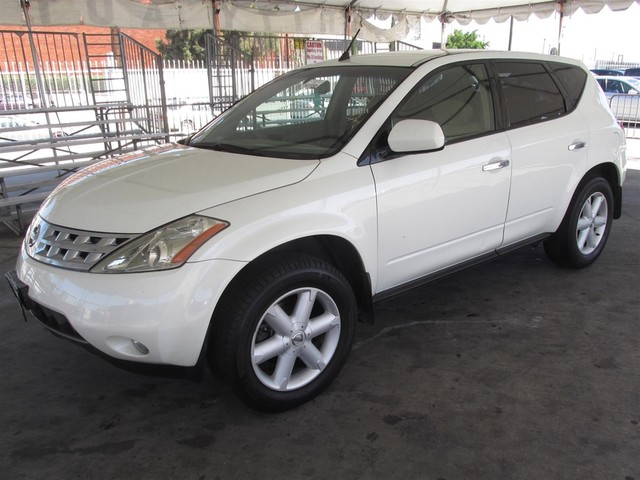 2003 Nissan Murano SE This particular Vehicles true mileage is unknown TMU Please call or e-ma