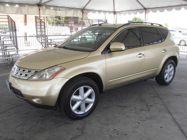 2003 Nissan Murano SE Please call or e-mail to check availability All of our vehicles are avail