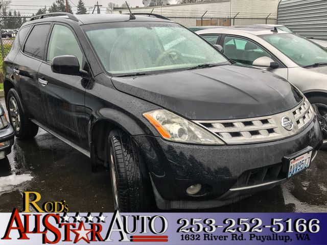 2003 Nissan Murano SL AWD The CARFAX Buy Back Guarantee that comes with this vehicle means that yo