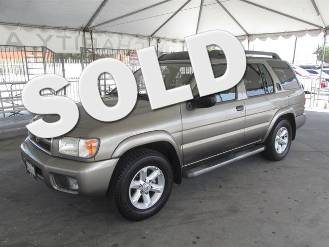 2003 Nissan Pathfinder SE Please call or e-mail to check availability All of our vehicles are a