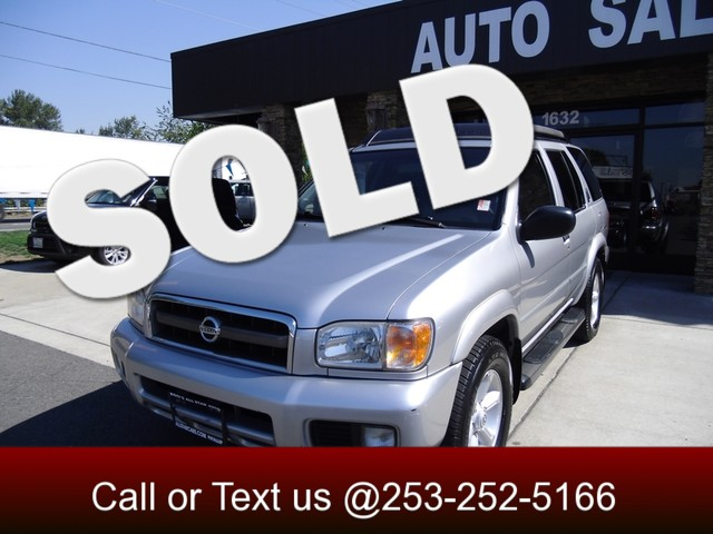 2003 Nissan Pathfinder SE The CARFAX Buy Back Guarantee that comes with this vehicle means that you