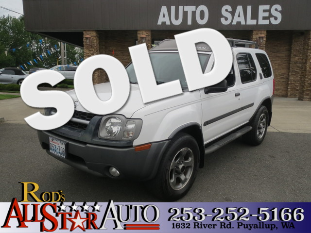 2003 Nissan Xterra SE Supercharged 4WD The CARFAX Buy Back Guarantee that comes with this vehicle
