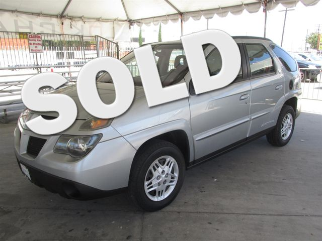 2003 Pontiac Aztek Please call or e-mail to check availability All of our vehicles are availabl