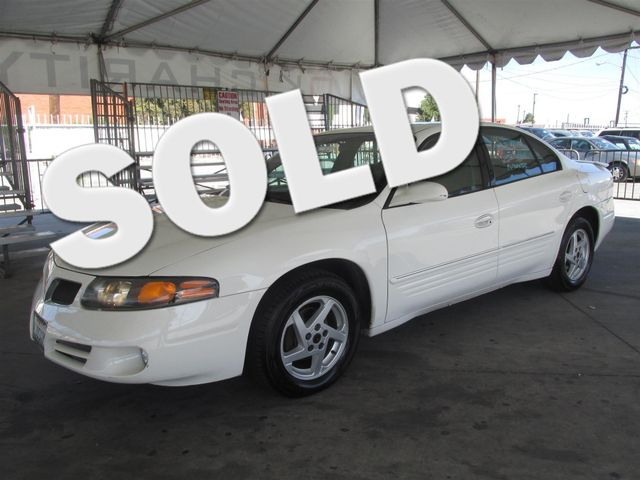 2003 Pontiac Bonneville SE Please call or e-mail to check availability All of our vehicles are