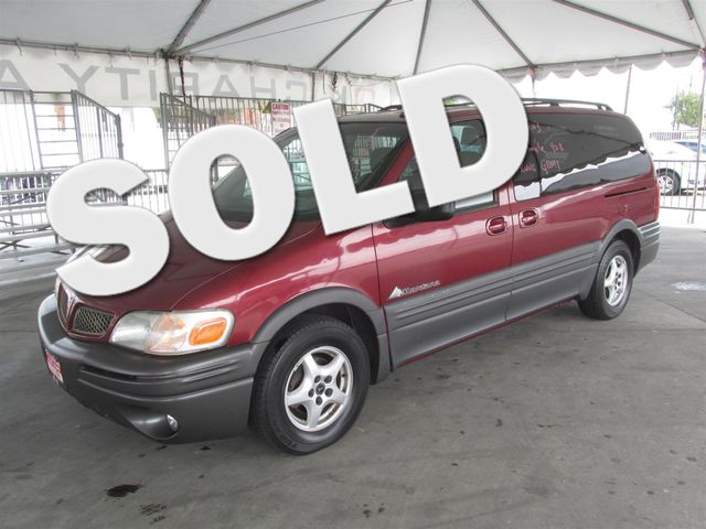 2003 Pontiac Montana w1SE Pkg This particular Vehicle comes with 3rd Row Seat Please call or e-m
