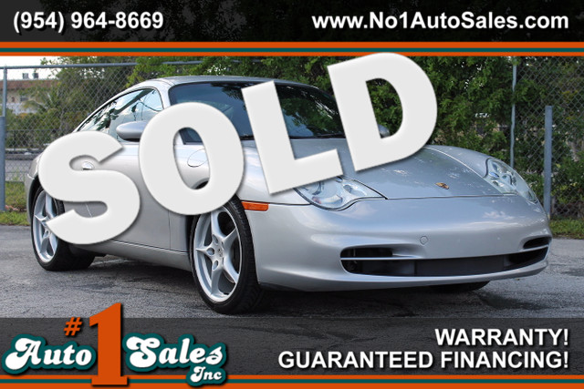 2003 Porsche 911 Carrera  WARRANTY CARFAX CERTIFIED AUTOCHECK CERTIFIED 2 OWNERS 13 SERVICE