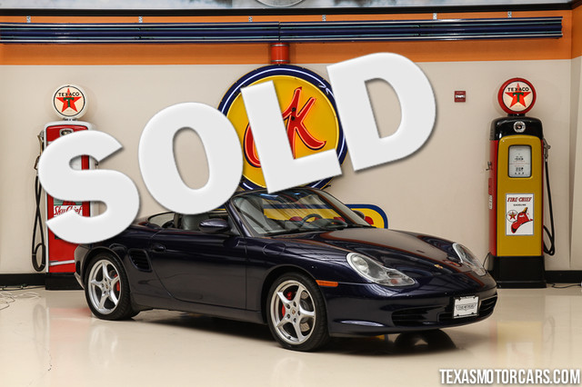 2003 Porsche Boxster S This clean Carfax 2003 Porsche Boxster S is in great shape with only 65 80