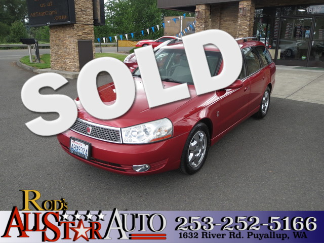 2003 Saturn LW The CARFAX Buy Back Guarantee that comes with this vehicle means that you can buy w