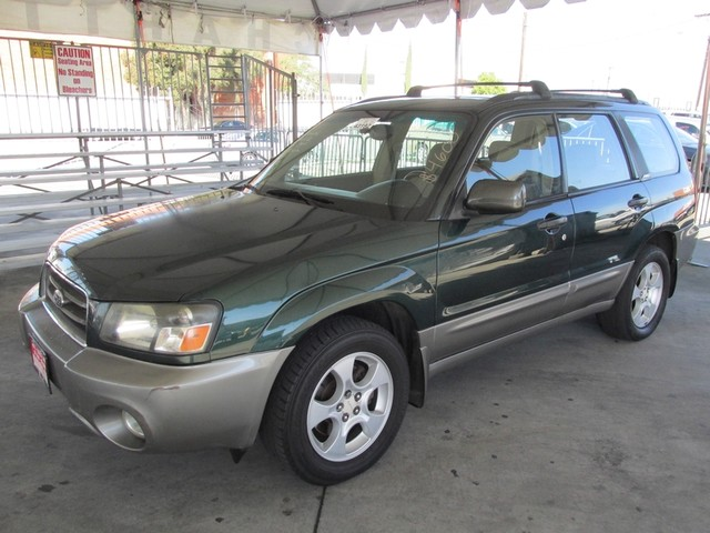2003 Subaru Forester XS Please call or e-mail to check availability All of our vehicles are avai
