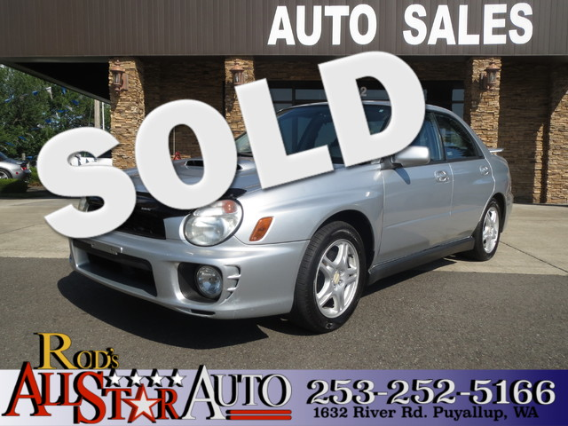 2003 Subaru Impreza WRX AWD Turbocharged The CARFAX Buy Back Guarantee that comes with this vehicl