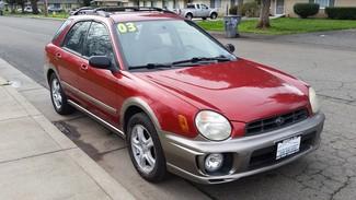 2003 Subaru Impreza Outback Sport Chico, CA 8