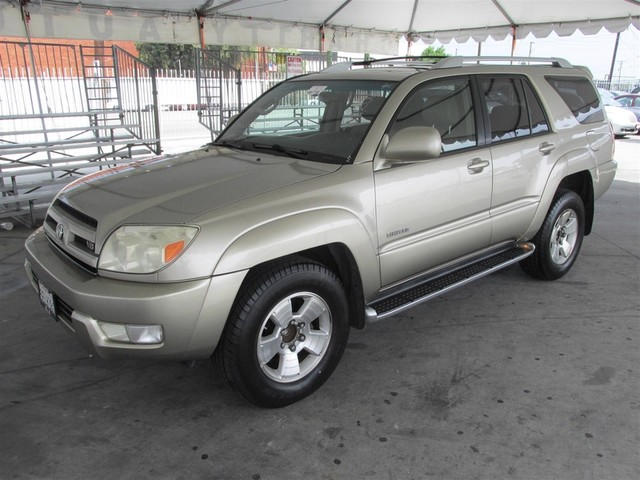 2003 Toyota 4Runner Limited Please call or e-mail to check availability All of our vehicles are