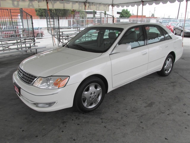 2003 Toyota Avalon XLS Please call or e-mail to check availability All of our vehicles are avai