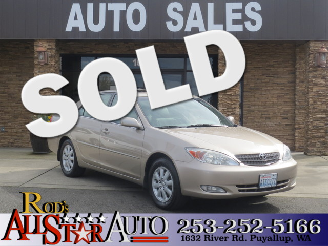 2003 Toyota Camry XLE The CARFAX Buy Back Guarantee that comes with this vehicle means that you ca