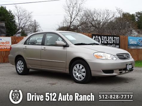 2003 Toyota COROLLA Automatic LOW MILES! in Austin, TX