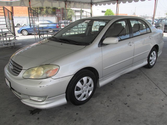 2003 Toyota Corolla S Please call or e-mail to check availability All of our vehicles are availa