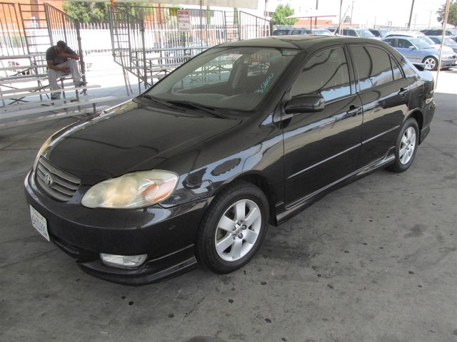 2003 Toyota Corolla S Please call or e-mail to check availability All of our vehicles are avail
