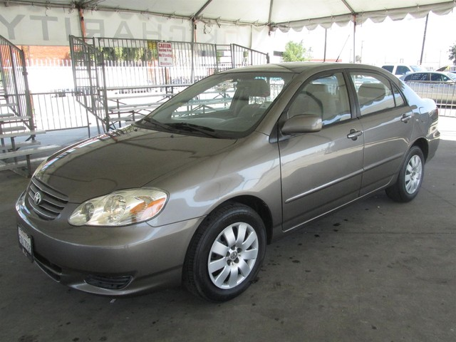 2003 Toyota Corolla LE Please call or e-mail to check availability All of our vehicles are avai