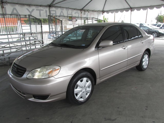 2003 Toyota Corolla LE This particular Vehicles true mileage is unknown TMU Please call or e-m