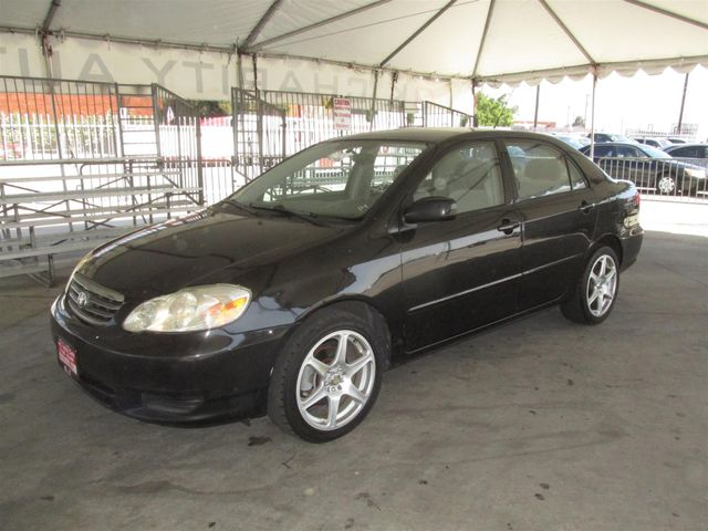 2003 Toyota Corolla CE Please call or e-mail to check availability All of our vehicles are avai