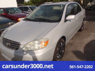2003 Toyota Corolla CE Lake Worth , Florida 0