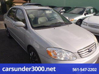 2003 Toyota Corolla CE Lake Worth , Florida 1