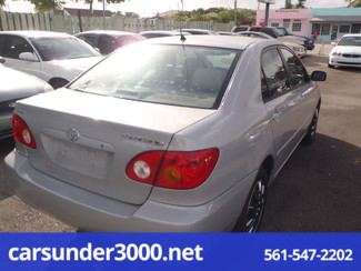 2003 Toyota Corolla CE Lake Worth , Florida 2