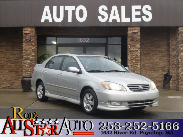 2003 Toyota Corolla S As one of Toyotas most versatile and popular models our 9th generation u