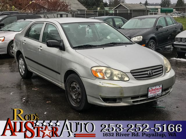 2003 Toyota Corolla CE Take the stress out of car buying at Rods All Star Auto After 25 years of